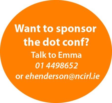 Sponsor the dot conf